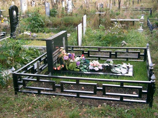 Ограды для могил сварные изготовление памятников в москве к дню